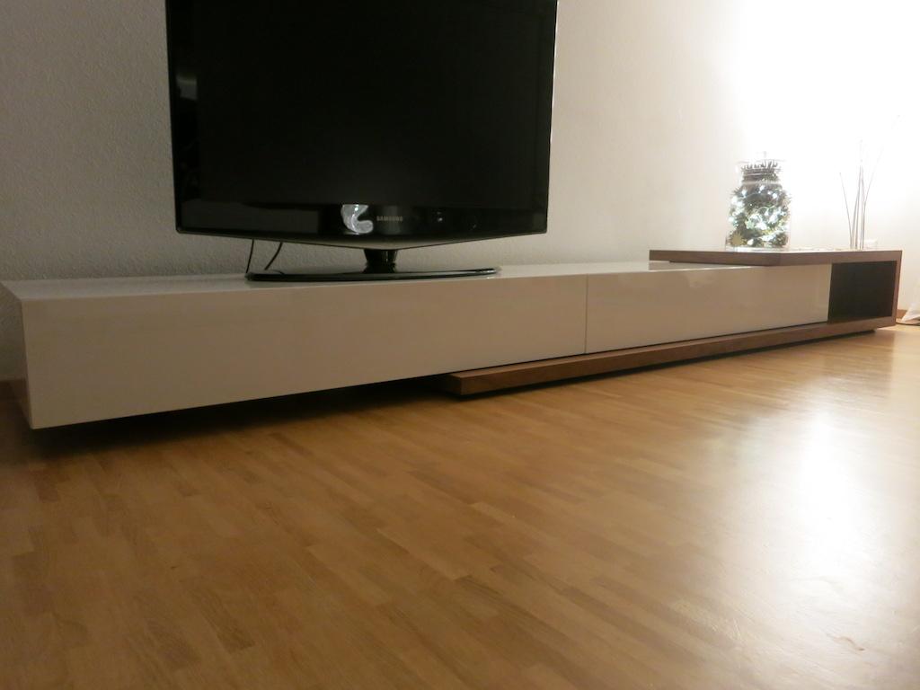 tv lowboard schreinerei m wagner ag. Black Bedroom Furniture Sets. Home Design Ideas
